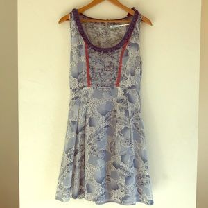 Silk Urban Outfitters Dress Size Small